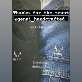 Embroidery #new#cooperation #Genui#thanks#for#thetrust #